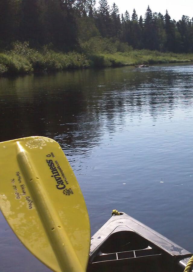 Kayaking Maine